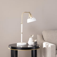Renmarco Contemporary Adjustable Table Lamp,