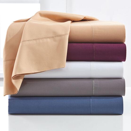 500-TC. Cotton 4-Pc. Solid Sheet Set,