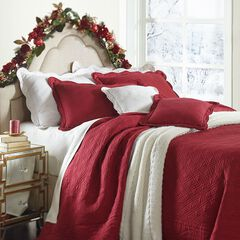 Florence Oversized Cotton Bedspread Collection  ,