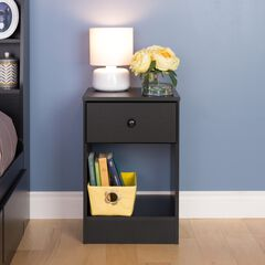 Astrid Tall 1-Drawer Nightstand,