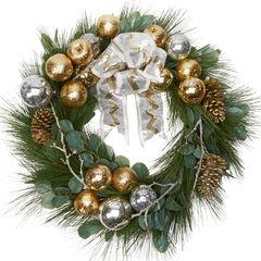 """30"""" Noble Glitz Wreath,"""