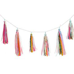 Ribbon Tassel Garland,