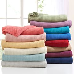 BrylaneHome® Studio Extra Large Primrose Cotton Blanket ,