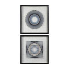 String Duet Geometric Art, Set of 2,