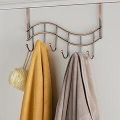 Over-the-Door Rack, BRONZE