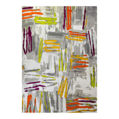 Abstract Circles Rug,