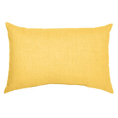 "20"" x 13"" Lumbar Pillow, LEMON"