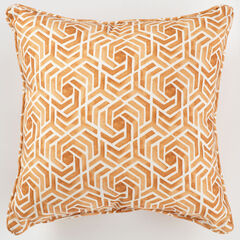 "16"" Sq. Toss Pillow, LEISURE FRESCO CLAY"