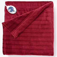 Ribbed Electric Warming Blanket by Serta,