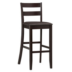"Bar Stool, 17""Wx21½""Dx43""H, ESPRESSO"