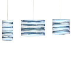 Bay Painted Stripe Pendant Lamp,