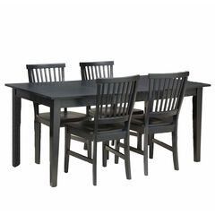 Arts & Crafts Dining Table & Chairs,