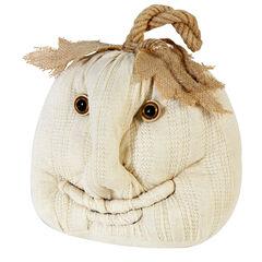 Plush Ivory Pumpkin ,