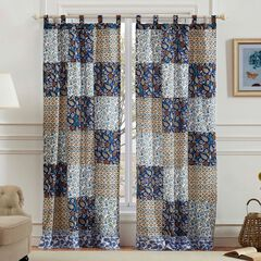 Pandora Curtain Panel Pair by Greenland Home Fashions,