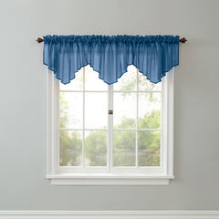 BH Studio® Sheer Voile Ascot Valance,