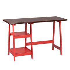 Farmhouse-Styled Simple A-Shape Desk,