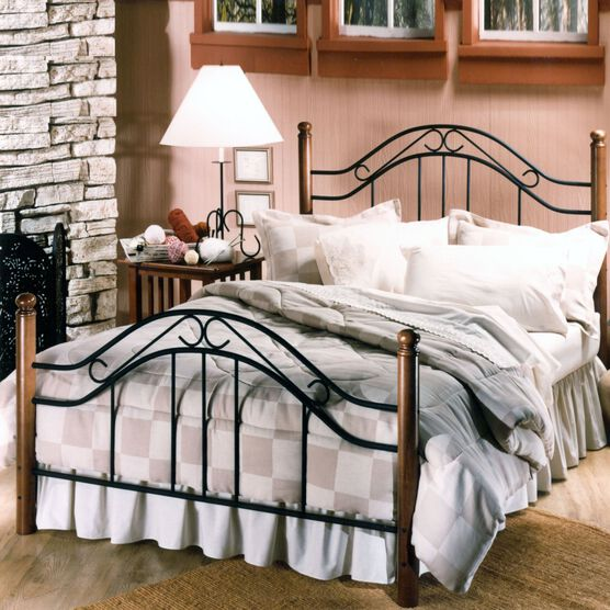 King Bed Set with Bed Frame, 83½'Lx79½'Wx50'H,