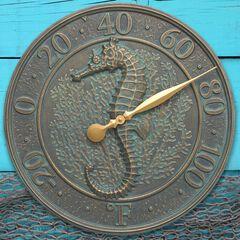 Seahorse Sealife Thermometer,