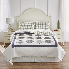 Reversible Printed 3-Pc. Quilt Set, PINE