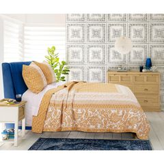 Mykonos Gold Quilt Set ,