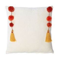 Nisha Suzani Square Pillow,