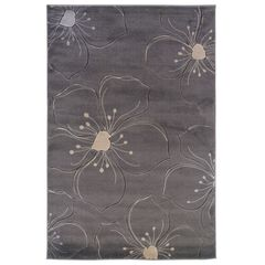 Milan Grey 5'X8' Area Rug,