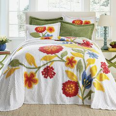 Bloom Chenille Bedspread Collection,