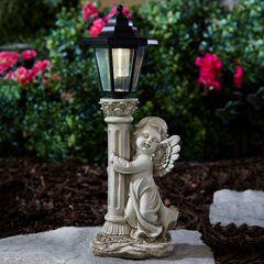 Angel with Solar Lantern,