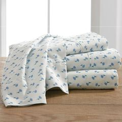 Garment-Washed Print Sheet Set,