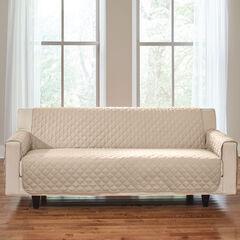 Bh Studio Water Repellent Microfiber Extra Long Sofa Protector