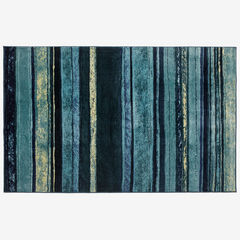 Large Rainbow Stripe Rug ,