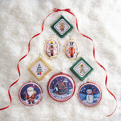 Vintage Ornaments, Set of 8,