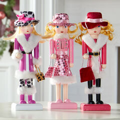 Set of 3 Nutcracker Girls,