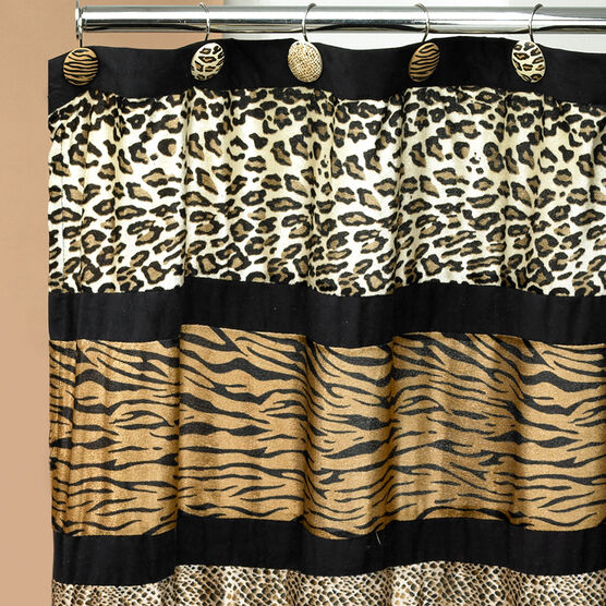 Gazelle Shower Curtain, MULTI