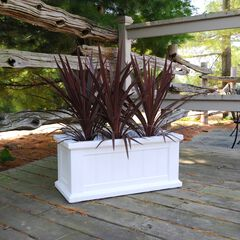 "Cape Cod Patio Planter 24"" x 11"","