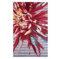 Large Whimsie Floral Rug,