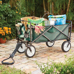 Folding Wagon, GREEN
