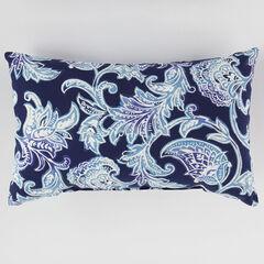 """20"""" x 13"""" Lumbar Pillow, LAHAYE INDIGO"""
