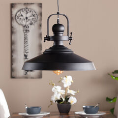 Industrial Bell Pendant Lamp,