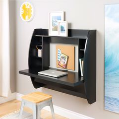 Floating Desk with Storage,