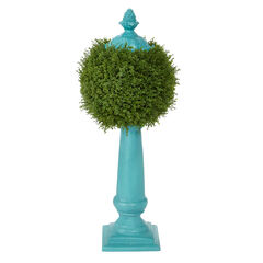 Ball Topiary Column, HAZE