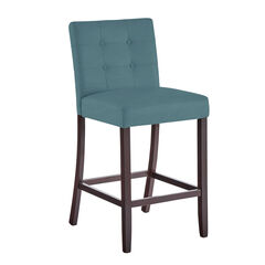 Aida Plus-Size Living Bar Stool , BLUE HAZE
