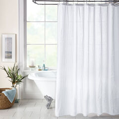 BH Studio Textured Shower Curtain,
