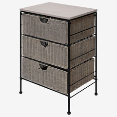 Autumn Grey 3 Drawer Chest,