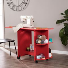Expandable Rolling Sewing Table/Craft Station,