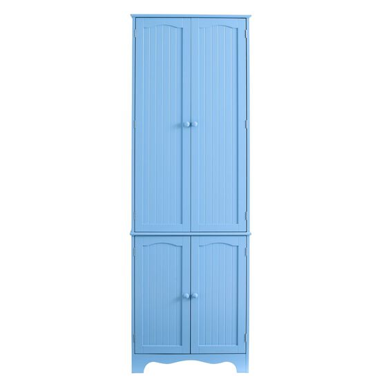 Cottage Kitchen Tall Pantry Cabinet,