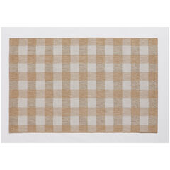 "Portofino Buffalo Plaid Indoor Outdoor Rug 58"" x 90"","