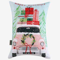 Christmas Car Decorative Pillow,
