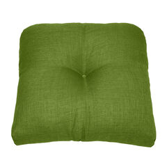 Tufted Wicker Chair Cushion, WILLOW