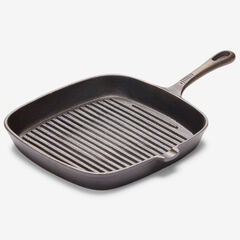 10'Sq. Cast Iron Grill Pan,
